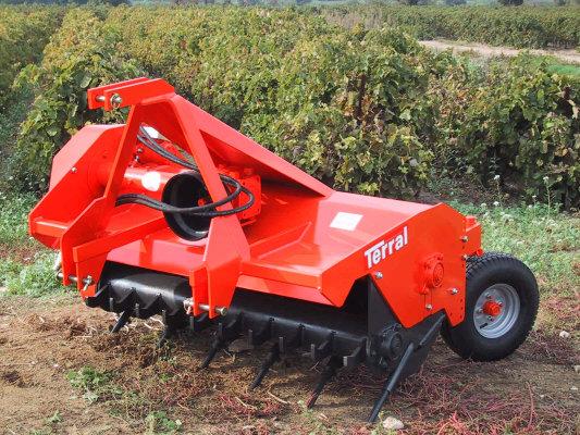 Photo du Broyeurs pour vignes Broyeur hors-sol