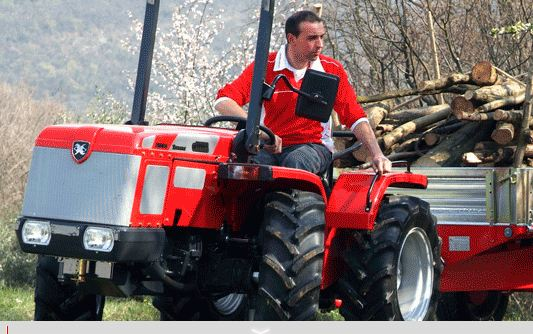 Photo du Tracteurs fruitiers Série Tigrone - Jona 6500