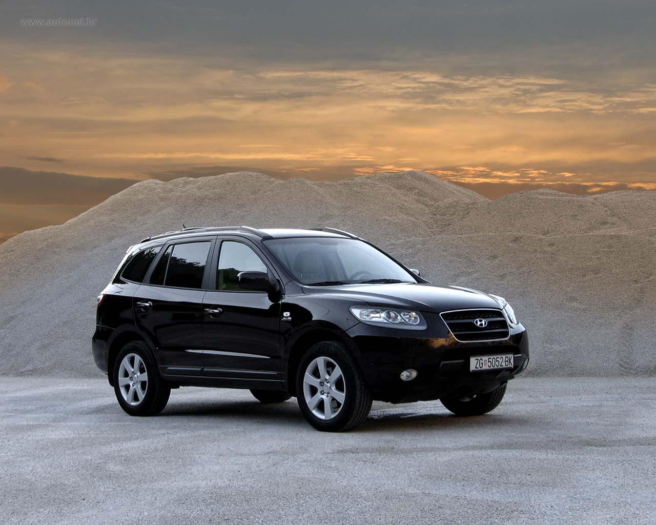 Photo du SUV, Crossover Santa Fe
