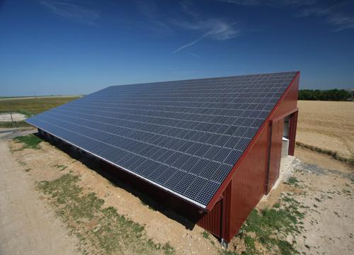 Photo du Energie photovoltaïque Location de toiture solaire photovoltaïque