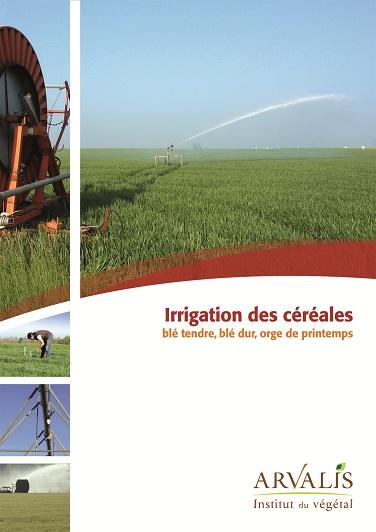 Photo du Chambres d\'Agriculture, Ceta... Irrigation des céréales blé tendre, blé dur, orge de printemps