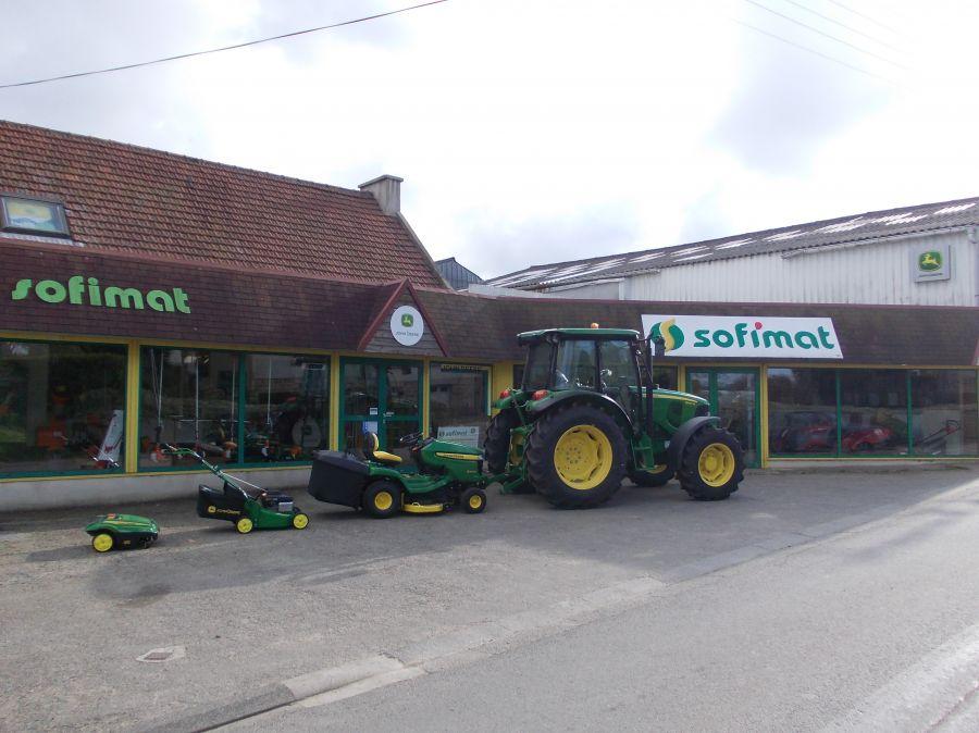 Photo du Vente de matériels neufs Concessionnaire tracteurs et moissonneuses John Deere