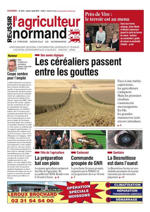 Photo du magazines, journaux agricoles L'Agriculteur Normand