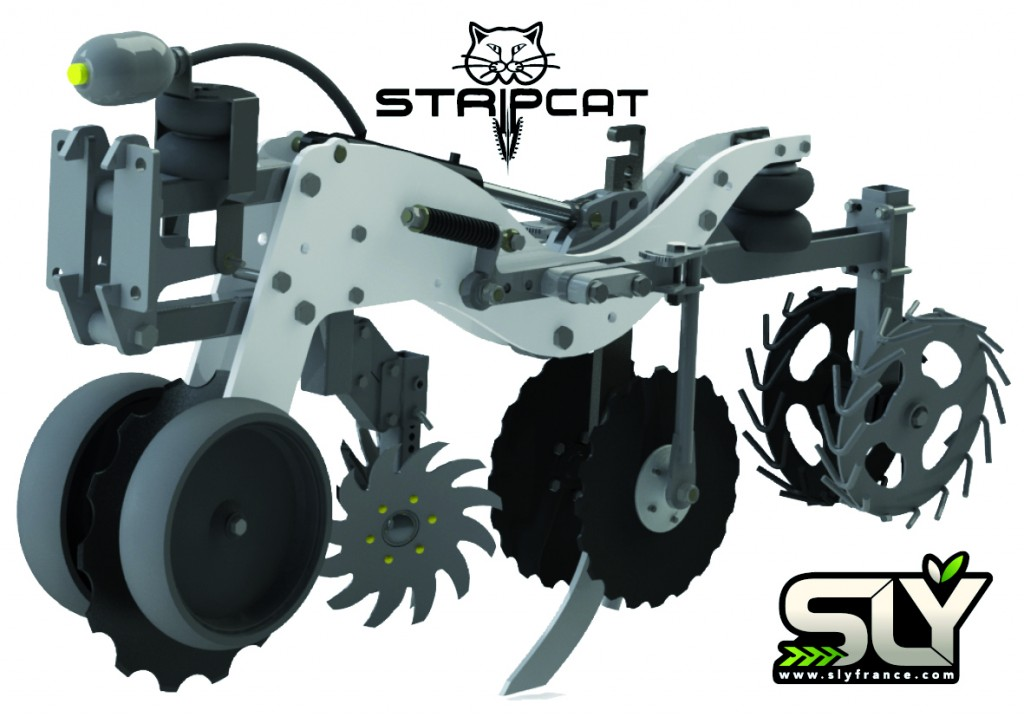 Photo du Strip-Till Stripcat