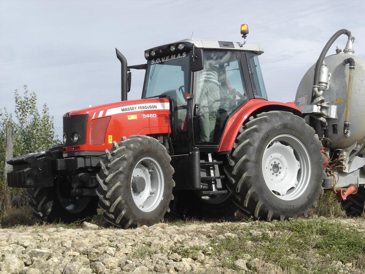 Photo du Tracteurs agricoles MF 5460 Tiers3 SISU