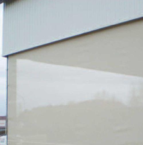 photo du rideaux brise vent rideaux fixes - Rideau Coupe Vent Agricole