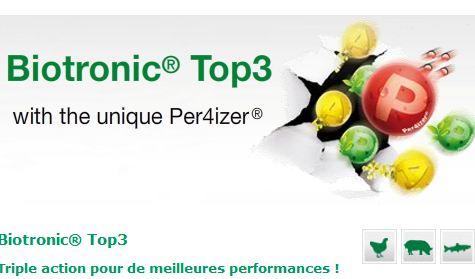 Photo du Complémentation minérale de la ration de base Biotronic Top3