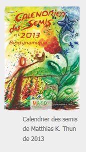 Photo du Ouvrages Calendrier des semis 2013