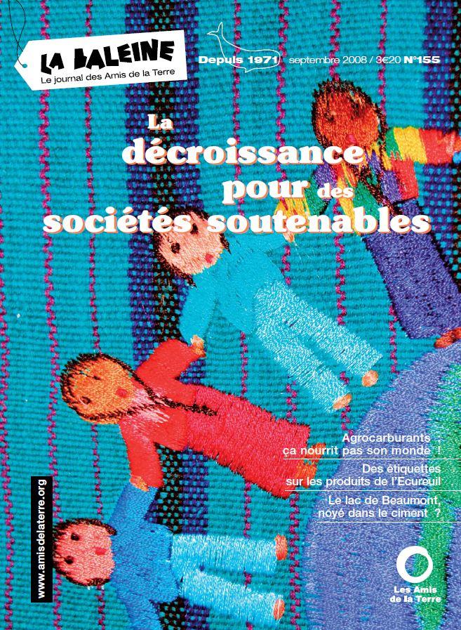 Photo du lettres, magazines promotionnels La Baleine