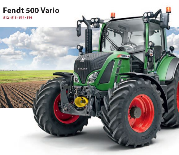Photo du Tracteurs agricoles 514 Vario
