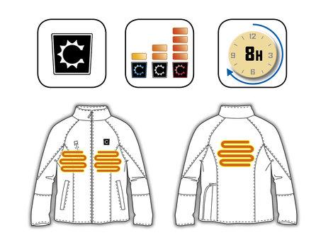 Vêtements Ribiland De Veste Avis Chauffante Pluie La Marque pX8UwYxq