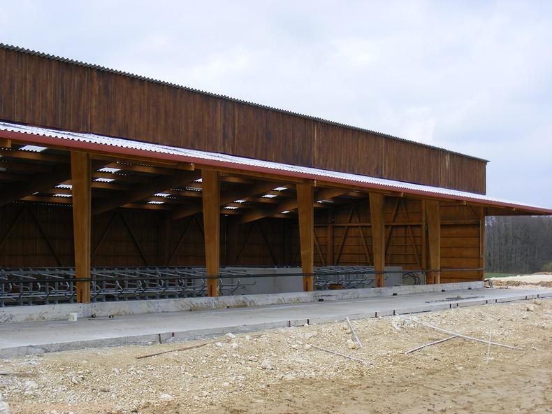 Photo du Construction bâtiments Fabrication de bâtiments en bois