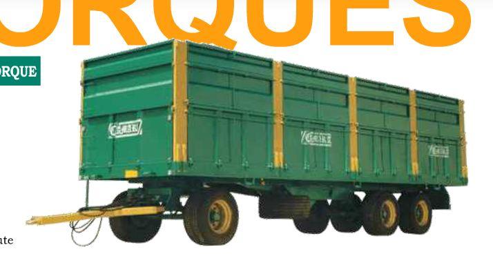 Photo du Remorques agricoles Remorques à essieux tandem et tridem