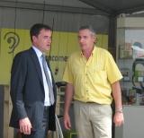 Ancomex - Visite du ministre de l'agriculture